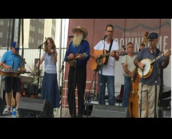 The River Ramblers at Shortys Bluegrass Fest