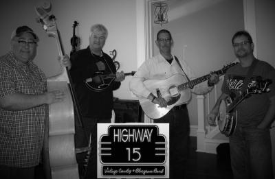Highway 15 Bluegrass Band at Shortys Strickly Bluegrass Festival